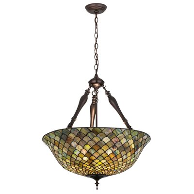 Isola 3-Light Inverted Pendant Size: 30 H