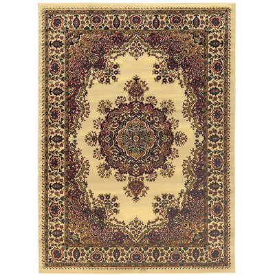 Northington Ivory Area Rug Rug Size: Rectangle 33 x 411