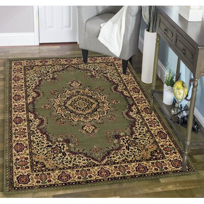 Northington Green Area Rug Rug Size: Rectangle 910 x 1210