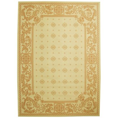 Carsen Natural/Terra Outdoor Area Rug Rug Size: Rectangle 710 x 11