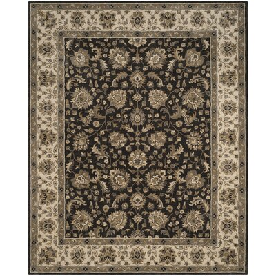 Colliers Hand-Tufted Charcoal/Beige Area Rug
