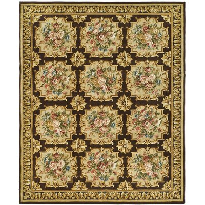 Bartlett Brown/Beige Area Rug Rug Size: Rectangle 8 x 10