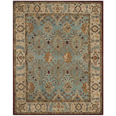 Barr Hand-Tufted Blue Area Rug Rug Size: Rectangle 8 x 10