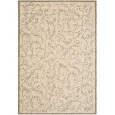 Beasley All Over Ivy Outdoor Rug Rug Size: Rectangle 53 x 77