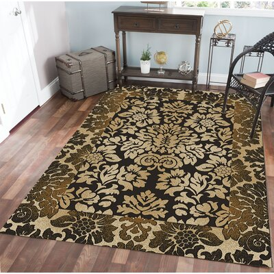 Gagetown Brown Area Rug Rug Size: Rectangle 79 x 11