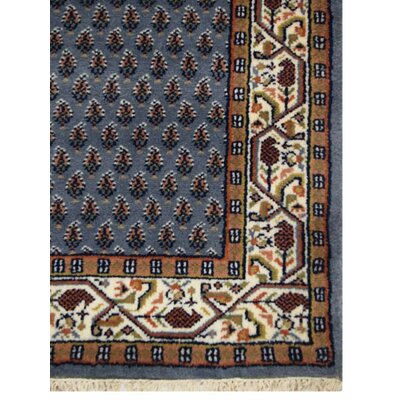 Shephard Hand-Woven Wool Blue Area Rug Rug Size: Rectangle�8 x 11
