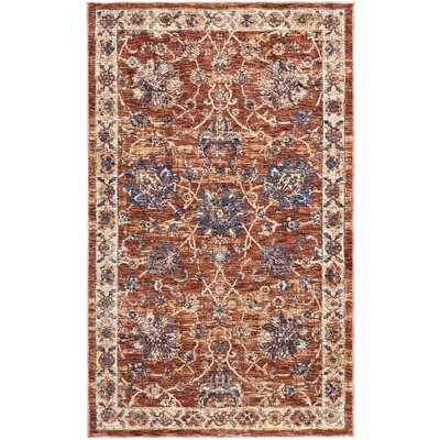 Westbrook Brick Area Rug Rug Size: Rectangle 3 x 5