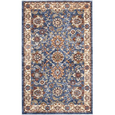 Westbrook Blue Area Rug Rug Size: Rectangle 3 x 5