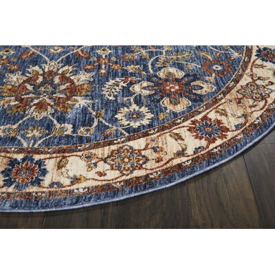Westbrook Blue Area Rug Rug Size: Rectangle 83 x 116