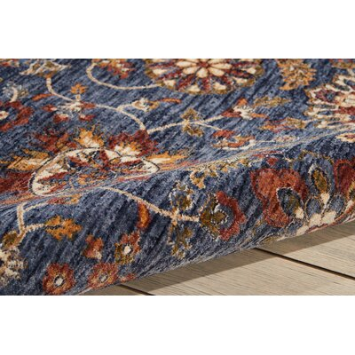 Westbrook Blue Area Rug Rug Size: Rectangle 910 x 132