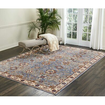 Westbrook Sky Area Rug Rug Size: Rectangle 83 x 116