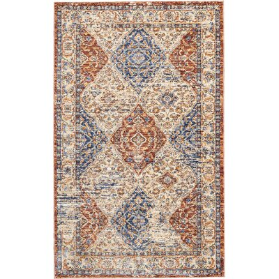 Westbrook Red/Blue Area Rug Rug Size: Rectangle 3 x 5