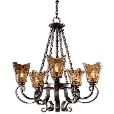 Constantine 5-Light Shaded Chandelier