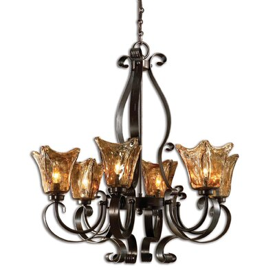 Constantine 6-Light Shaded Chandelier