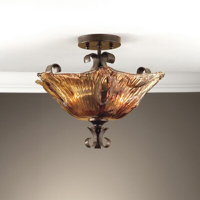 Constantine 2-Light Semi Flush Mount