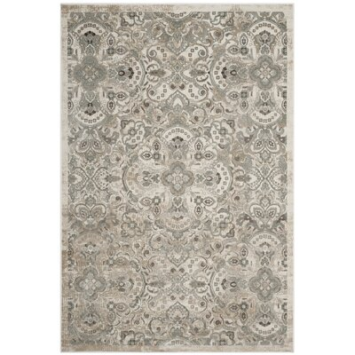 Attamore Cream Area Rug Rug Size: Rectangle 4 x 57