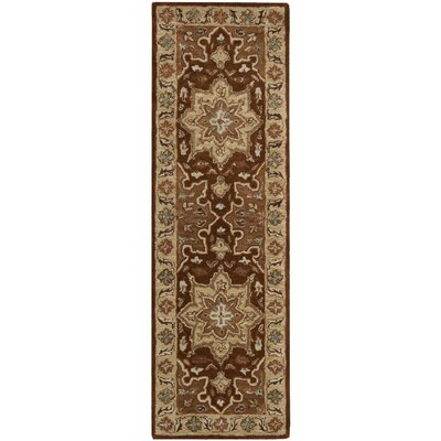 Lunada Chocolate Area Rug Rug Size: Runner 2 x 7