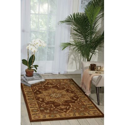 Lunada Chocolate Area Rug Rug Size: Rectangle 2 x 3