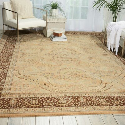 Stonekeep Sand Area Rug Rug Size: Rectangle 53 x 75