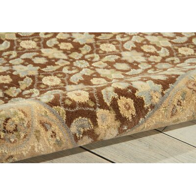Carmorn Chocolate Area Rug Rug Size: Rectangle 79 x 1010