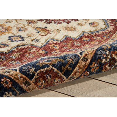 Westbrook Oriental Cream Area Rug Rug Size: Rectangle 910 x 132
