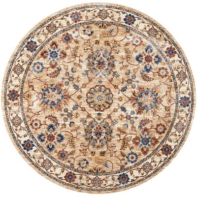 Westbrook Natural Area Rug Rug Size: Square 5