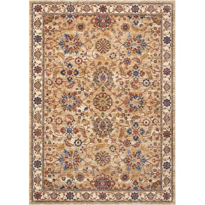 Westbrook Natural Area Rug Rug Size: Rectangle 83 x 116