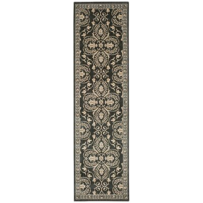 Castanada Graphite Area Rug Rug Size: Rectangle 28 x 17