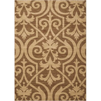 Castanada Mocha Area Rug Rug Size: Rectangle 53 x 75