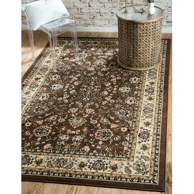 Concord Brown Area Rug Rug Size: Runner 22 x 82