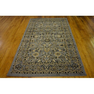 Essehoul Gray Area Rug Rug Size: Rectangle 9 x 12
