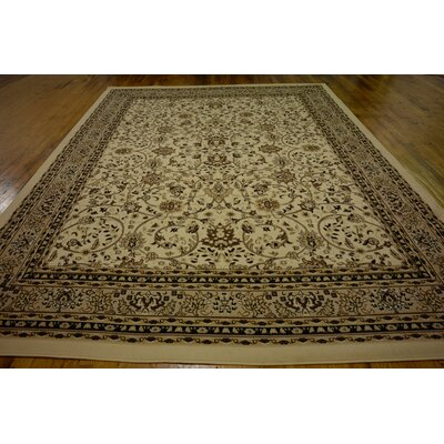 Essehoul Ivory Area Rug Rug Size: Rectangle 910 x 13