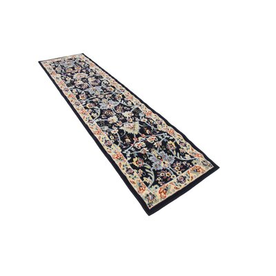 Concord Navy Blue Area Rug Rug Size: Runner 27 x 10