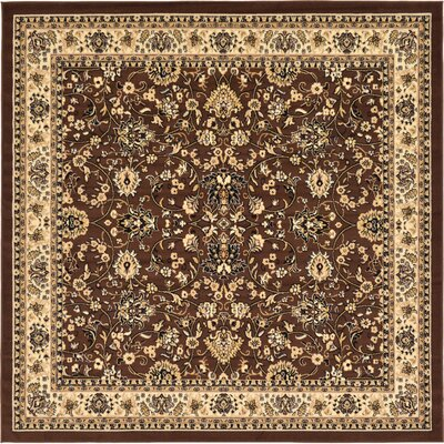 Concord Brown Area Rug Rug Size: Square 8