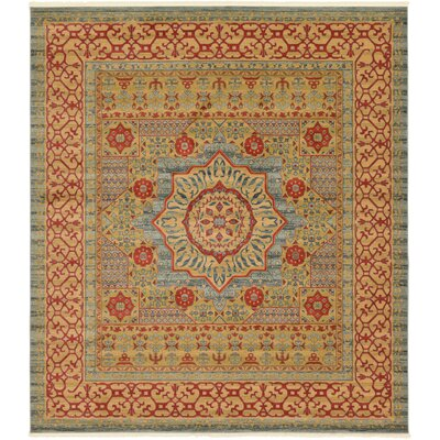 Laurelwood Yellow/Red Area Rug Rug Size: Rectangle 10 x 114