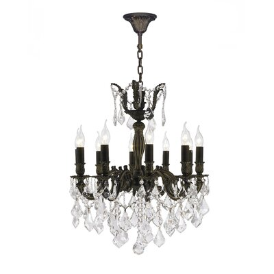 Dodson 10-Light Candle-Style Chandelier