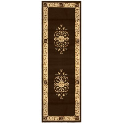 Dodington Machine Woven Polypropylene Coffee Area Rug Rug Size: Rectangle 4 x 6