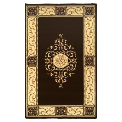 Dodington Machine Woven Polypropylene Coffee Area Rug Rug Size: Rectangle 8 x 10