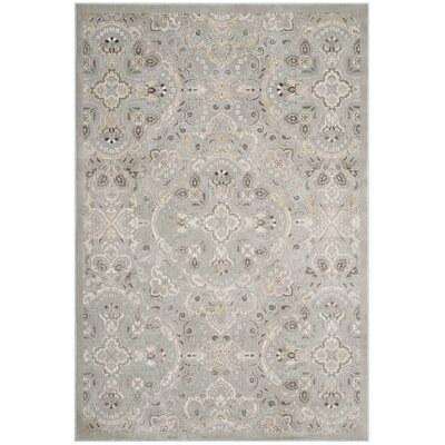 Attamore Silver Area Rug Rug Size: Rectangle 4 x 57
