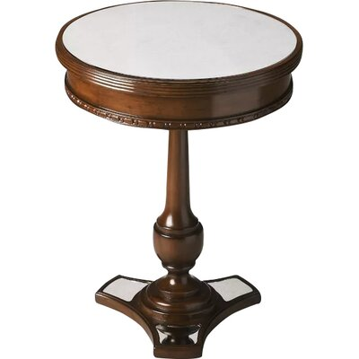 Bedingfield End Table Color: Mirror and Mahogany