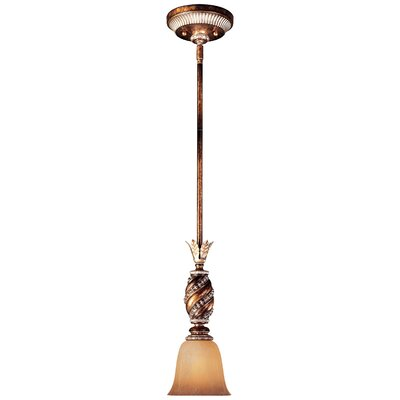 Mcmillian 1-Light Glass Shade Mini Pendant