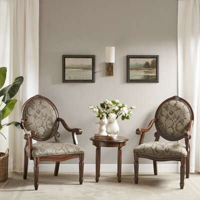 Cornelli 3 Piece Armchair Set
