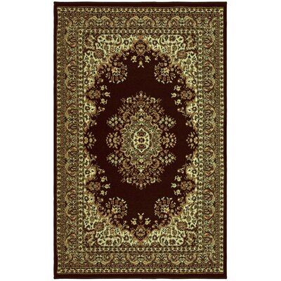 Dodington Coffee Area Rug Rug Size: Rectangle 4 x 6