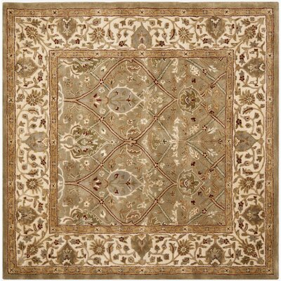 Empress Tufted Wool Area Rug Rug Size: Square 8