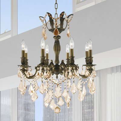 Dodson 8-Light Crystal Chandelier