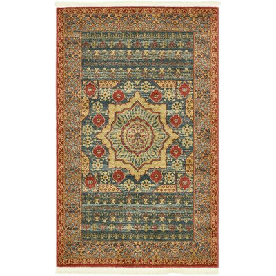 Laurelwood Navy Blue Area Rug Rug Size: Rectangle 33 x 53