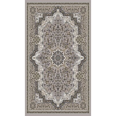 Linde Gray Area Rug Rug Size: Rectangle 710 x 106