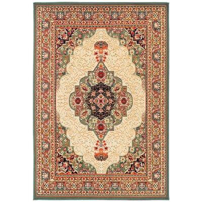 Kulick Oriental Indoor/Outdoor Area Rug Rug Size: Rectangle 2 x 3