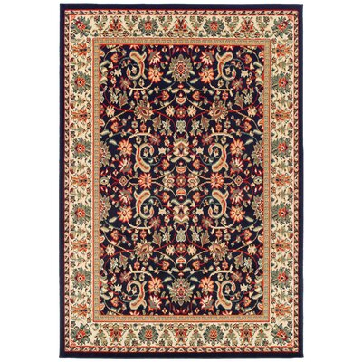 Kulik Black Indoor/Outdoor Area Rug Rug Size: Rectangle 2 x 3