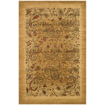 Barton Beige Area Rug Rug Size: Rectangle 6 x 9
